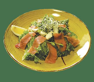 Салат з лососем | Піццерія мрія
